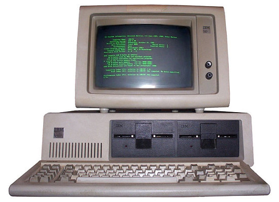 I, Boffy b took this photo of my IBM PC, and release it under the GFDL and CC-BY-SA